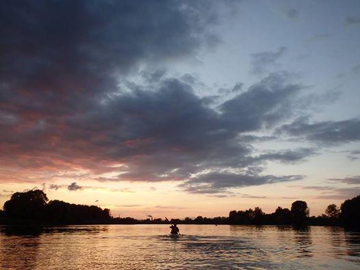 Paddeln Elbe